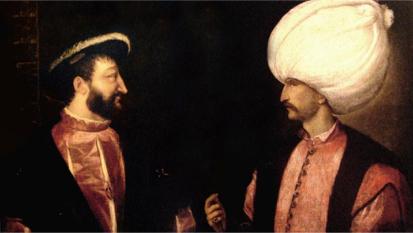 Soliman le Magnifique avec François 1er